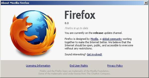 Firefox 8.0