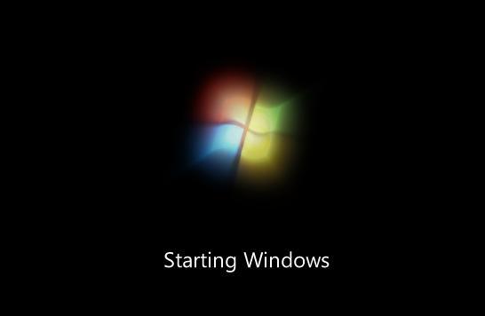 Windows 7 - Starting Windows