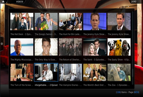 ITV Player in XBMC
