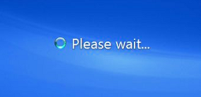 Windows 7 boot - Please wait...