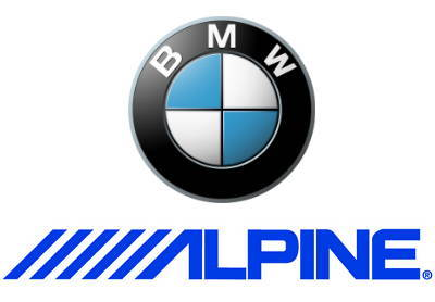 BMW and Alpine logos