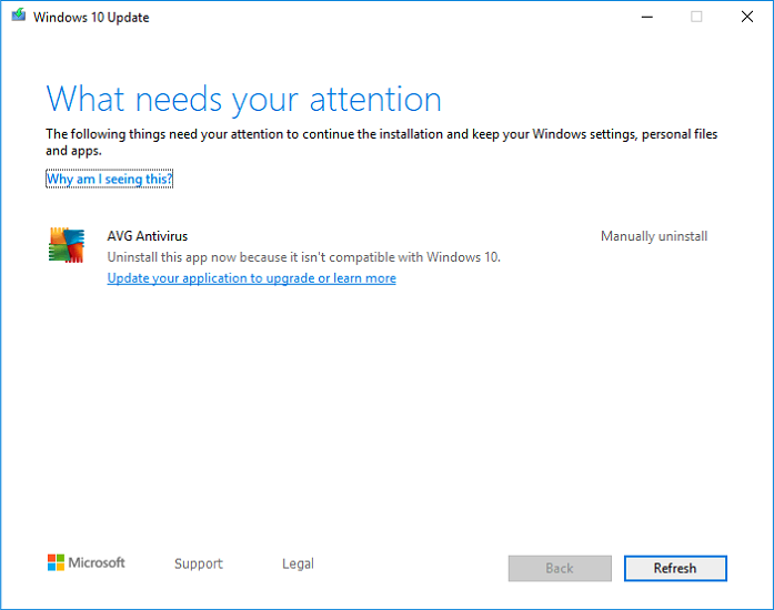 Windows 10 Update - What needs your attention